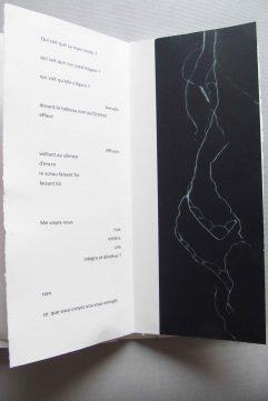 Eurydice nue, poème de Claire Krähenbül