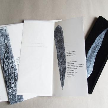 Pivoines, livre d'artiste